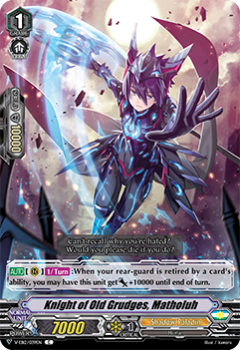 V-EB12/039EN Knight of Old Grudges, Matholuh - Team Dragon's Vanity! Cardfight!! Vanguard! English Trading Card Game