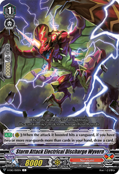 V-EB12/050EN Storm Attack Electrical Discharge Wyvern - Team Dragon's Vanity! Cardfight!! Vanguard! English Trading Card Game