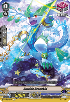 V-EB12/065EN Outride Dracokid - Team Dragon's Vanity! Cardfight!! Vanguard! English Trading Card Game
