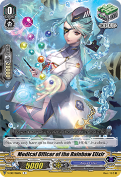 V-EB12/066EN Medical Officer of the Rainbow Elixir - Team Dragon's Vanity! Cardfight!! Vanguard! English Trading Card Game