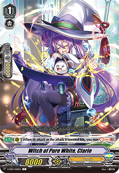 V-EB13/048EN Witch of Pure White, Clarie
