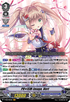 V-EB15/005EN PR♥ISM-Image, Vert - Twinkle Melody Cardfight!! Vanguard! English Trading Card Game