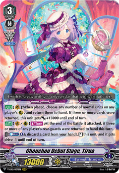 V-EB15/007EN Chouchou Debut Stage, Tirua - Twinkle Melody Cardfight!! Vanguard! English Trading Card Game