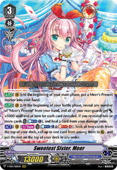 V-EB15/008EN Sweetest Sister, Meer - Twinkle Melody Cardfight!! Vanguard! English Trading Card Game