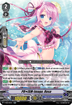 V-EB15/014EN PR♥ISM-Image, Rosa - Twinkle Melody Cardfight!! Vanguard! English Trading Card Game