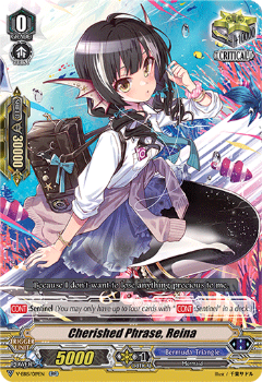 V-EB15/019EN Cherished Phrase, Reina - Twinkle Melody Cardfight!! Vanguard! English Trading Card Game