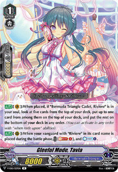 V-EB15/027EN Gleeful Mode, Tavia - Twinkle Melody Cardfight!! Vanguard! English Trading Card Game