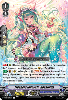 V-EB15/031EN Freshers Innovate, Rosalinda - Twinkle Melody Cardfight!! Vanguard! English Trading Card Game