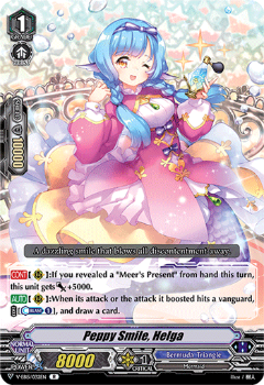 V-EB15/032EN Peppy Smile, Helga - Twinkle Melody Cardfight!! Vanguard! English Trading Card Game