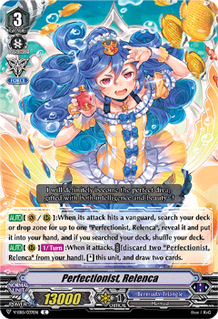 V-EB15/037EN Perfectionist, Relenca - Twinkle Melody Cardfight!! Vanguard! English Trading Card Game
