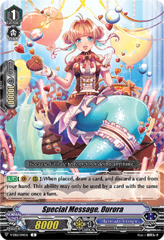 V-EB15/041EN Special Message, Ourora - Twinkle Melody Cardfight!! Vanguard! English Trading Card Game