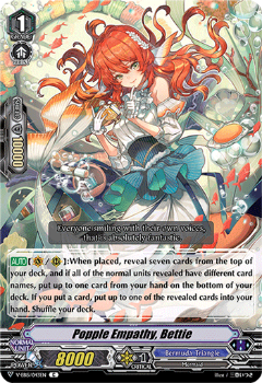 V-EB15/043EN Popple Empathy, Bettie - Twinkle Melody Cardfight!! Vanguard! English Trading Card Game