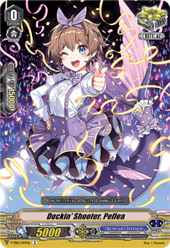 V-EB15/047EN Dockin' Shooter, Pellea - Twinkle Melody Cardfight!! Vanguard! English Trading Card Game