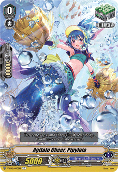 V-EB15/050EN Agitato Cheer, Pipylaia - Twinkle Melody Cardfight!! Vanguard! English Trading Card Game
