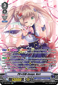 V-EB15/SP05EN PR♥ISM-Image, Vert - Twinkle Melody Cardfight!! Vanguard! English Trading Card Game