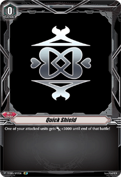 V-EB15/SP17EN Quick Shield (Bermuda Triangle) - Twinkle Melody Cardfight!! Vanguard! English Trading Card Game