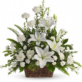 Lily Remembrance Wreath CW - 103