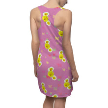 Load image into Gallery viewer, Flowers and Butterflies Dress (Pink)