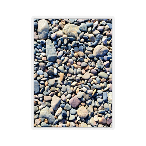 Beach Pebbles Sticker