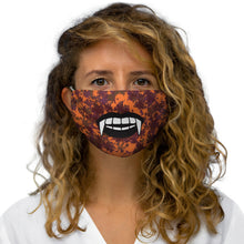 Load image into Gallery viewer, Vampire Fangs Fabric Face Mask