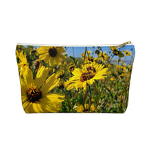 Load image into Gallery viewer, Bee-utiful Accessory Pouch w T-bottom
