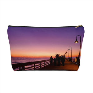 Sunset Accessory Pouch w T-bottom
