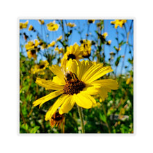 Load image into Gallery viewer, Bee on Flower Sticker