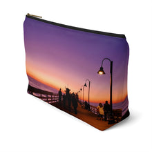 Load image into Gallery viewer, Sunset Accessory Pouch w T-bottom