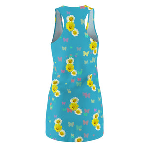 Flowers and Butterflies Dress