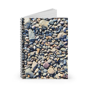 Beach Pebbles Spiral Notebook