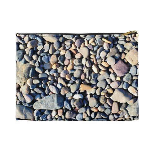 Beach Pebbles Accessory Pouch