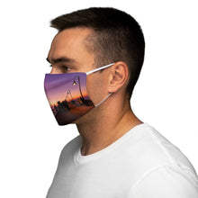 Load image into Gallery viewer, Sunset at Imperial Beach Fabric Face Mask