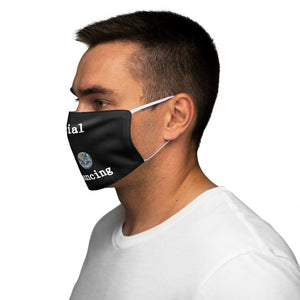 Social Distancing Fabric Face Mask