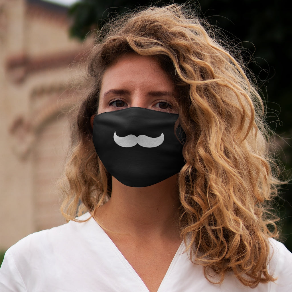 Mustache Fabric Face Mask