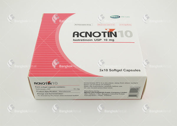 Isotretinoin Capsules For Acne
