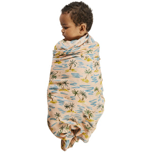 Kip and Co - Castaway Bamboo Baby Swaddle