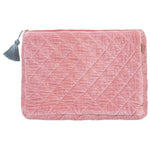 Kip and Co - Spanish Pink Velvet Laptop Case