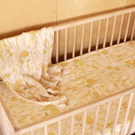 BANABAE - Goldfields Hemp/Organic Cotton Fitted Cot Sheet