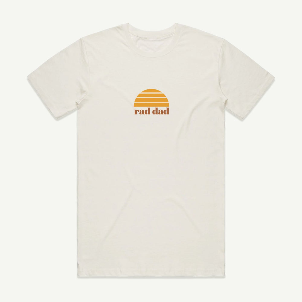 BANABAE - Rad Dad Tee - White