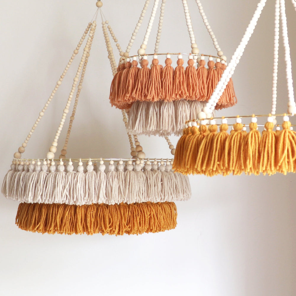 Marla and Co - Dusty Mini Double Layer Chandelier