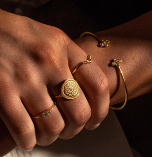 Sahara Jewellery - The Coin Ring
