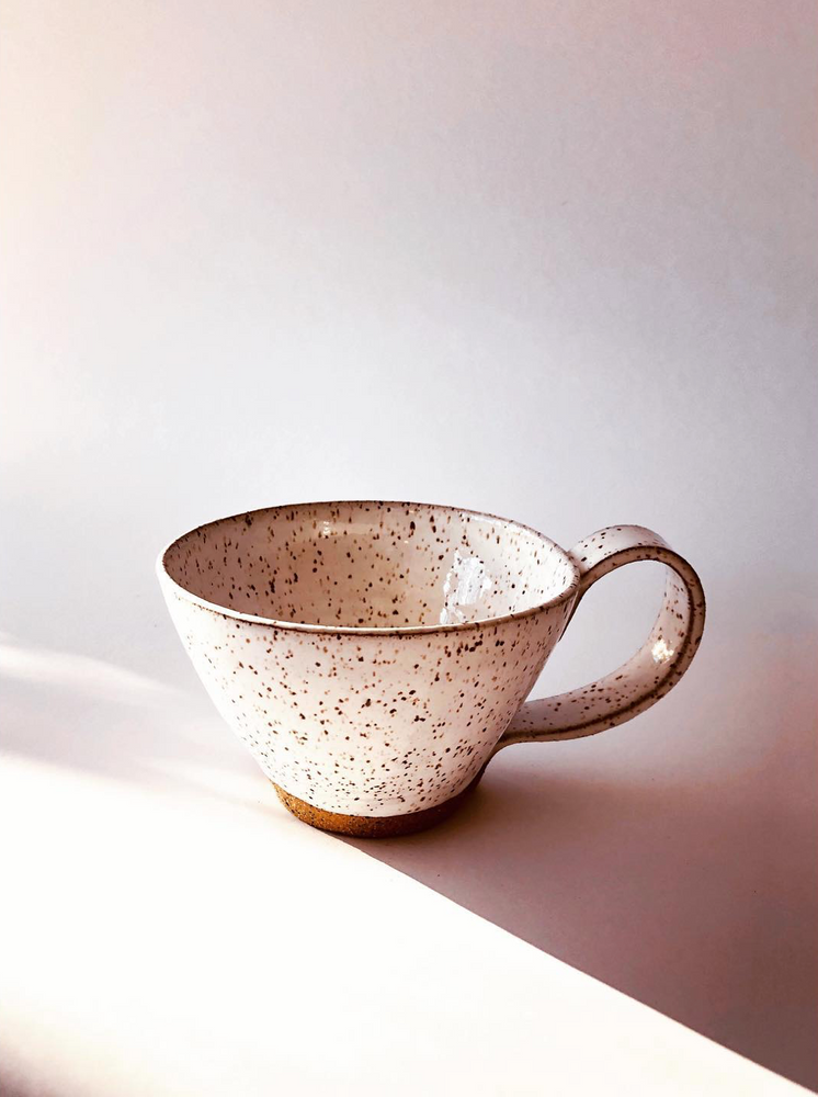 Speckled Tea Cup