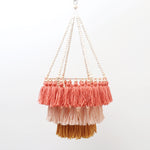Marla and Co - Dusty Sunset Mini Triple Layer Chandelier