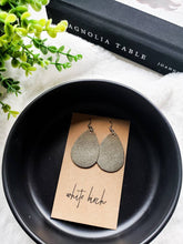 Load image into Gallery viewer, Neutral Leather Earring Trio
