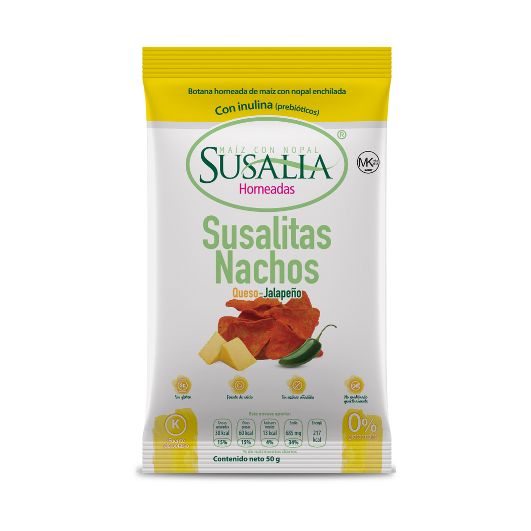 Susalitas Nachos 1.76 oz bag – case with 12 bags