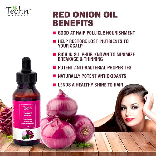 Red Onion Hair Growth Oil