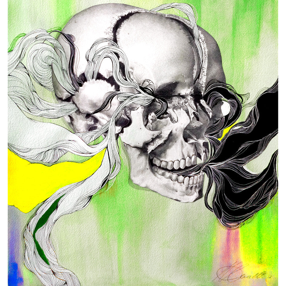 Rainbow Skull Print - Sarah Howell Limited Edition - 1