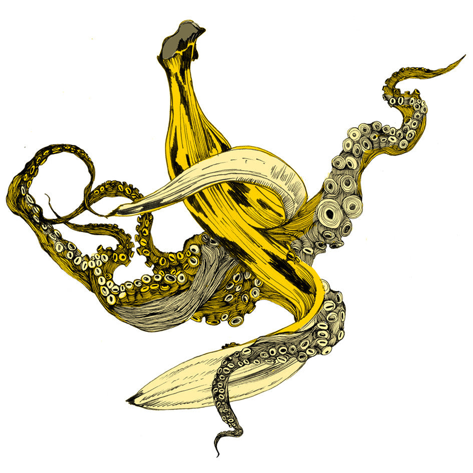 Banana Peel Print - Sarah Howell Limited Edition - 1