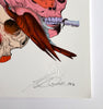Bird Skull Mask Print - Sarah Howell Limited Edition - 2