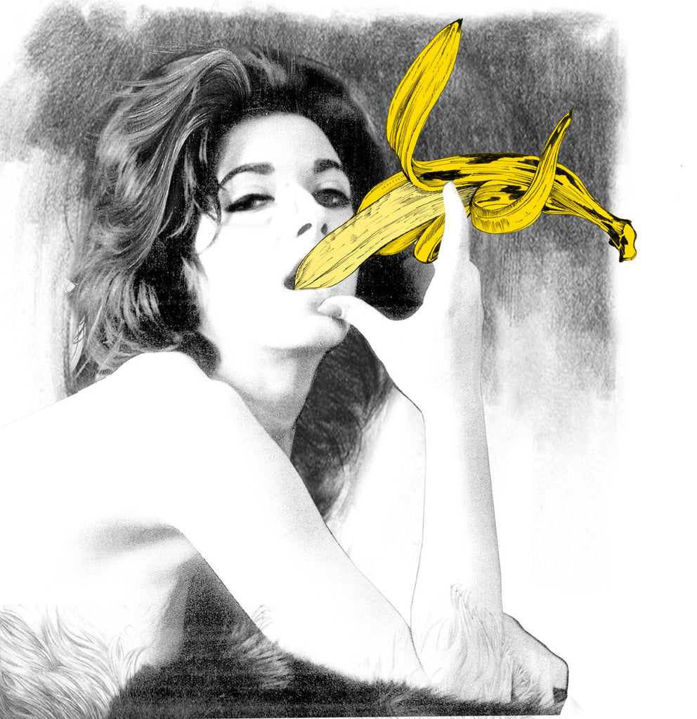 Limited Edition Print 'Banana Eater' - Sarah Howell Limited Edition - 1